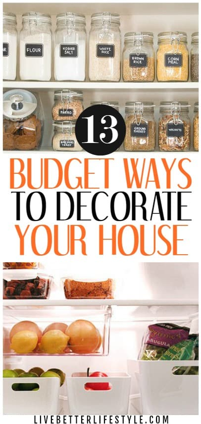 Ideas for Decorating House on a Budget