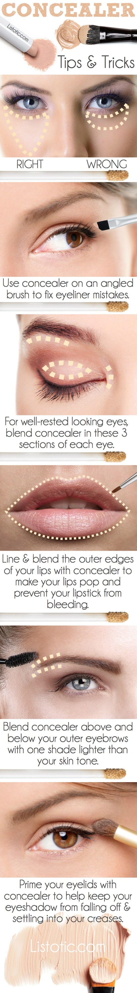 genius makeup hacks