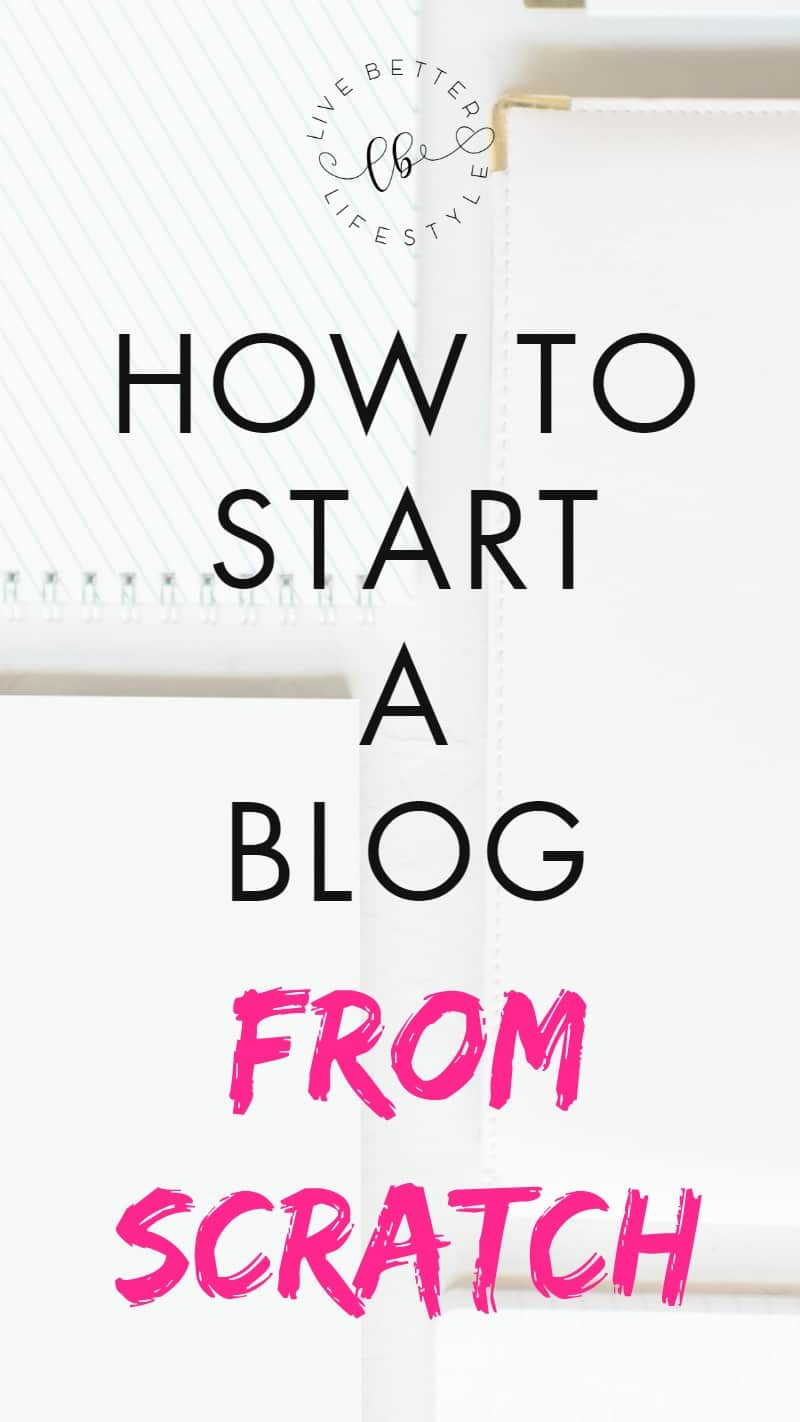 how to start a blog for beginner with siteground