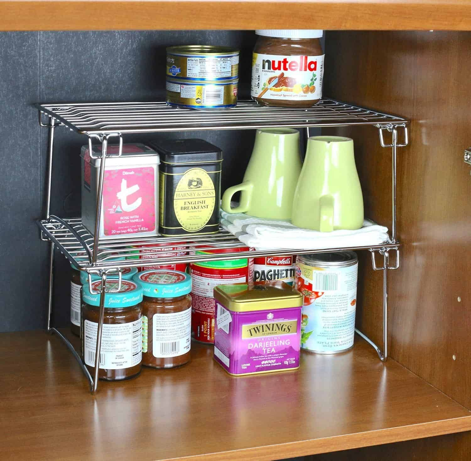 Kitchen Pantry Cabinet Organization Ideas Plate Rack Shelf: 15 Mind-Blowing Kitchen Cabinet Organization Ideas You'll