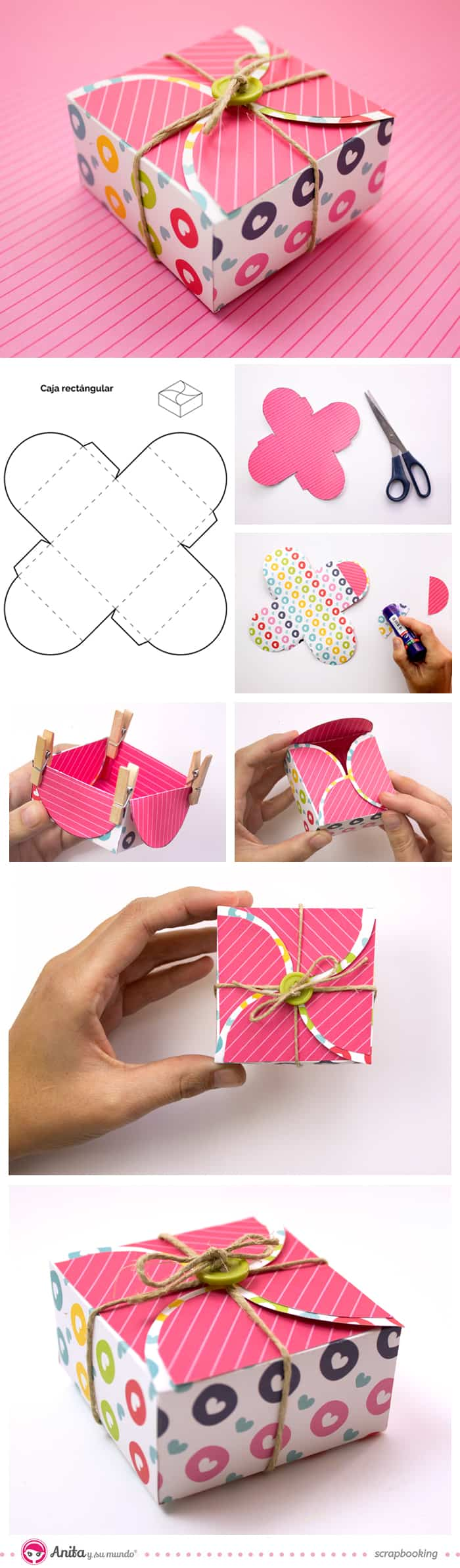 DIY Boxes For Small Gifts