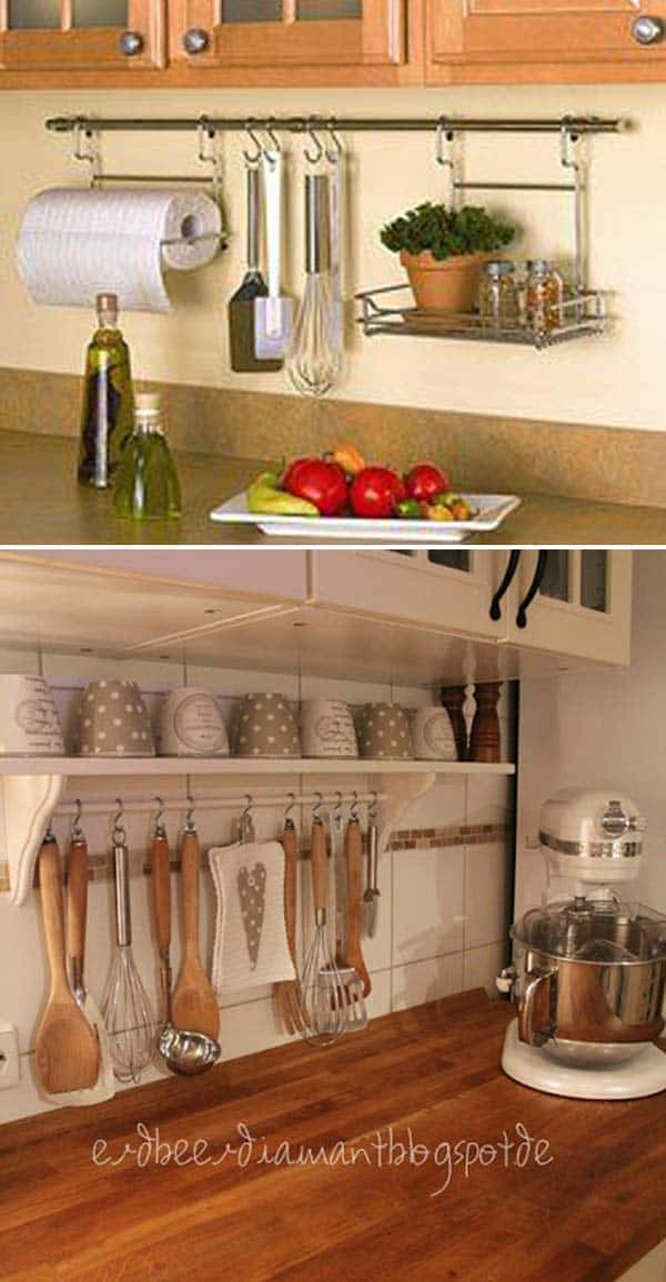 12 Kitchen Countertop Organization Ideas For Instant