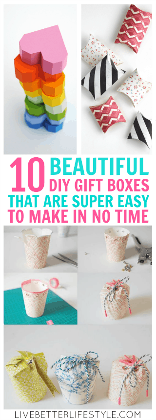 10 Beautiful Diy Gift Boxes That You Can Make In No Time Live