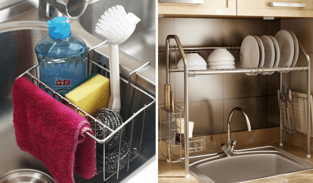 12 Amazing Kitchen Sink Organization Ideas You'll Regret Not Trying