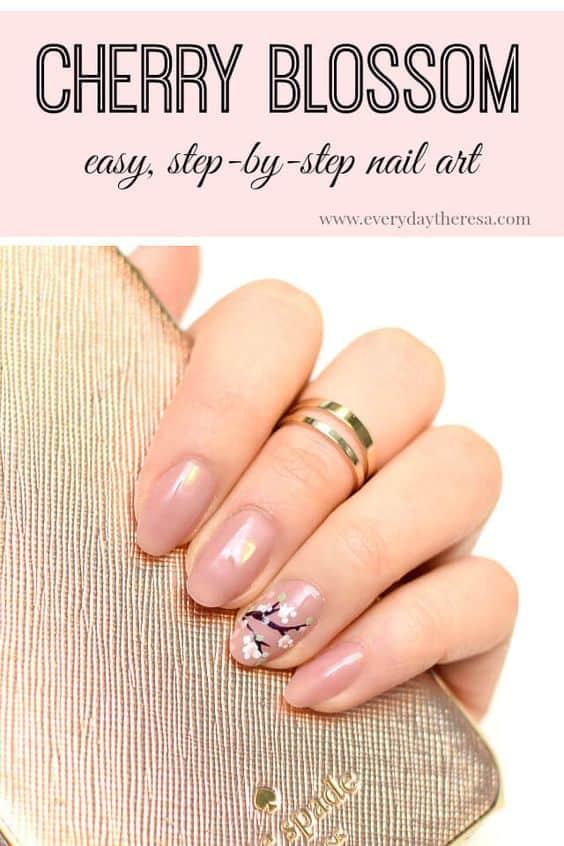 DIY nail art ideas for spring