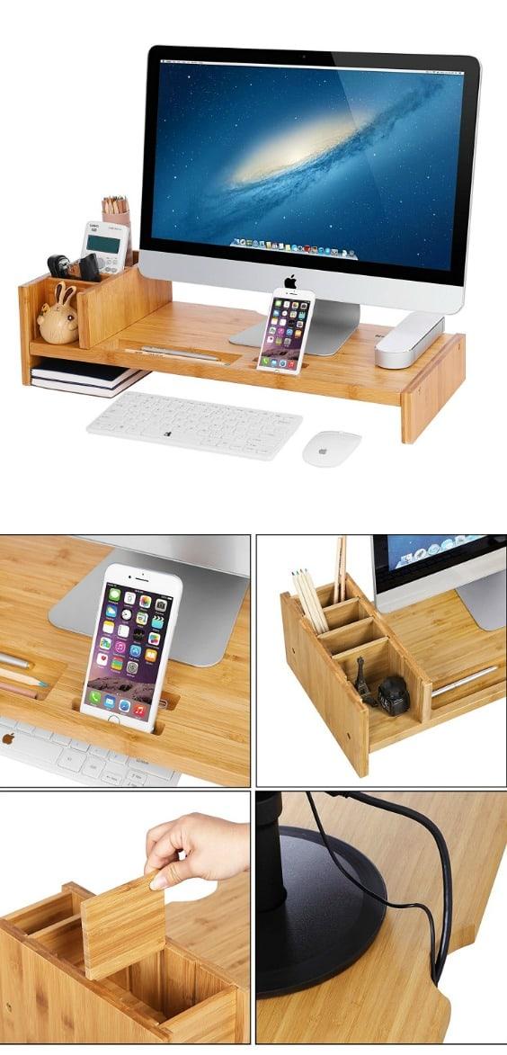 smart home office desk organization ideas