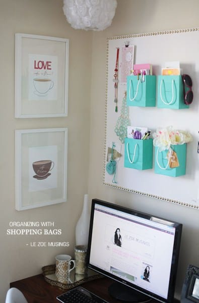 brilliant home office wall organization ideas