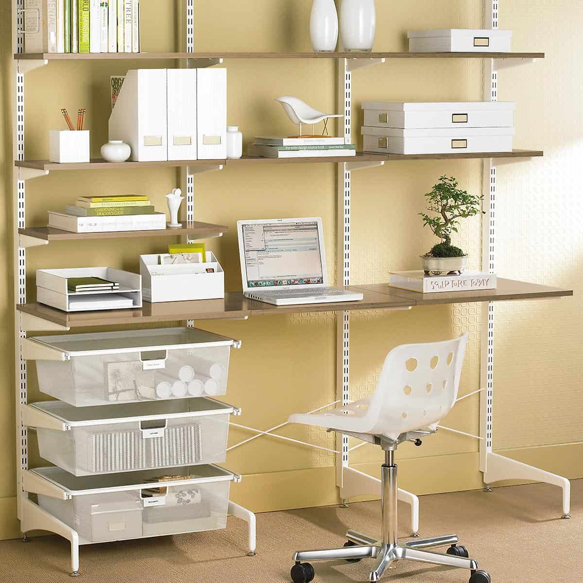 12 Brilliant Home Office Wall Organization Ideas - Live Better Lifestyle