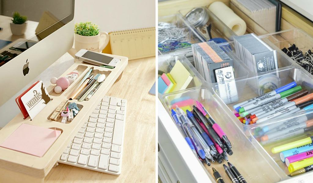 Office Desk Ideas 13 Ridiculously Smart Home Office Desk Organization Ideas