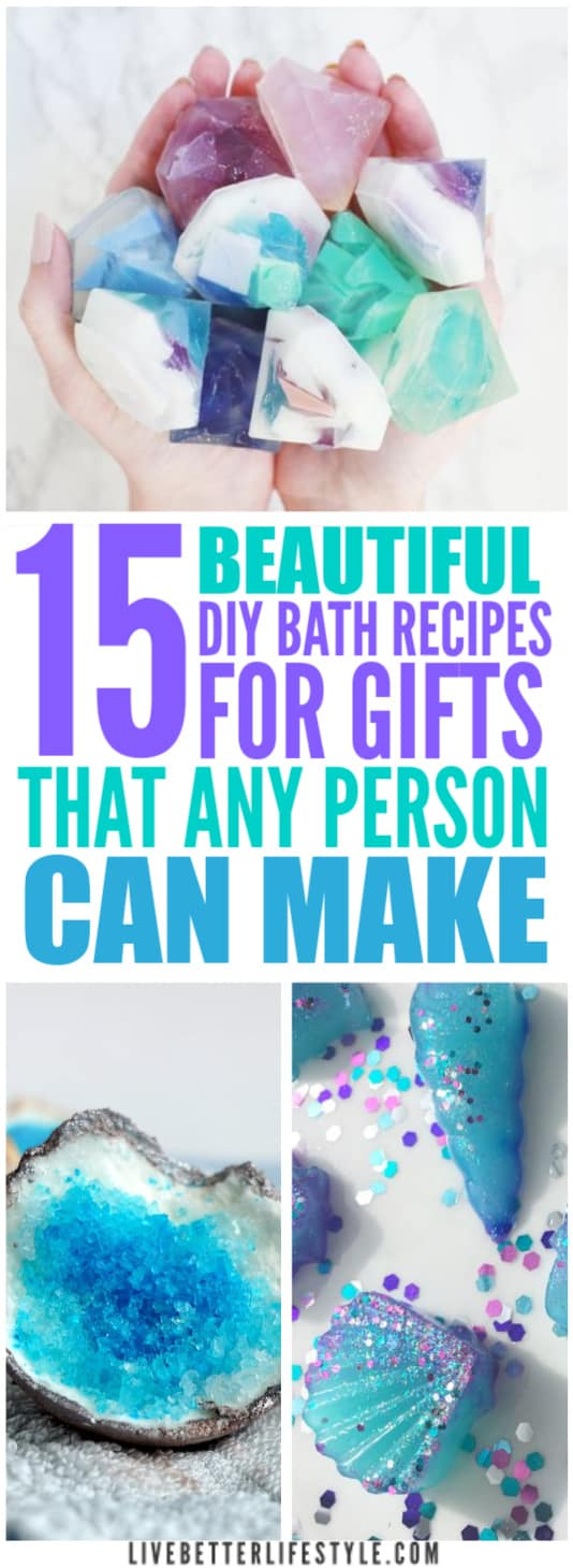 Beautiful DIY Bath Recipes