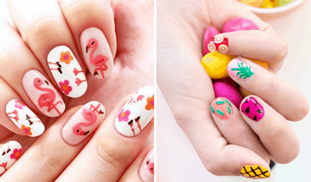 13 Cool Diy Summer Nail Art Ideas Perfect For Vacation Live Better